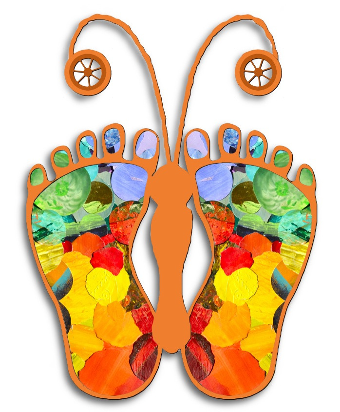 Butterfly feet image